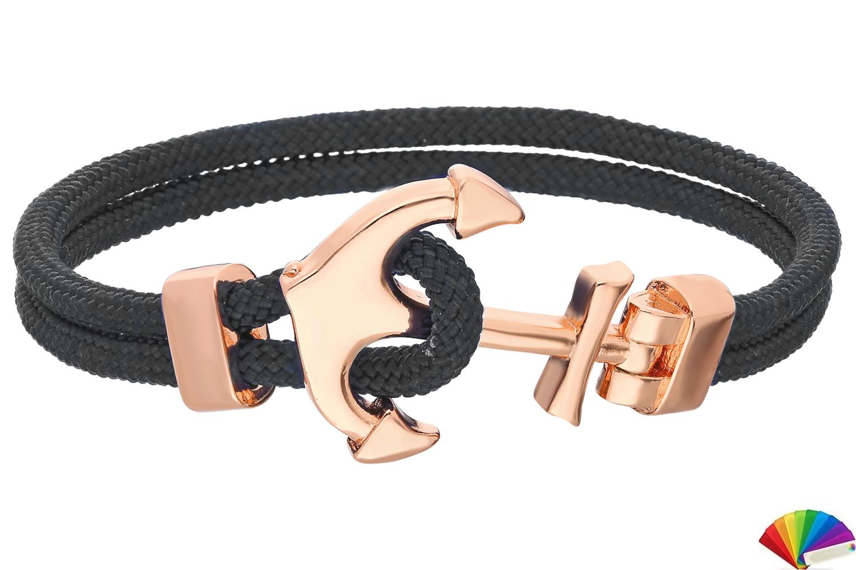Bracelet:B263 / Rose & Black
