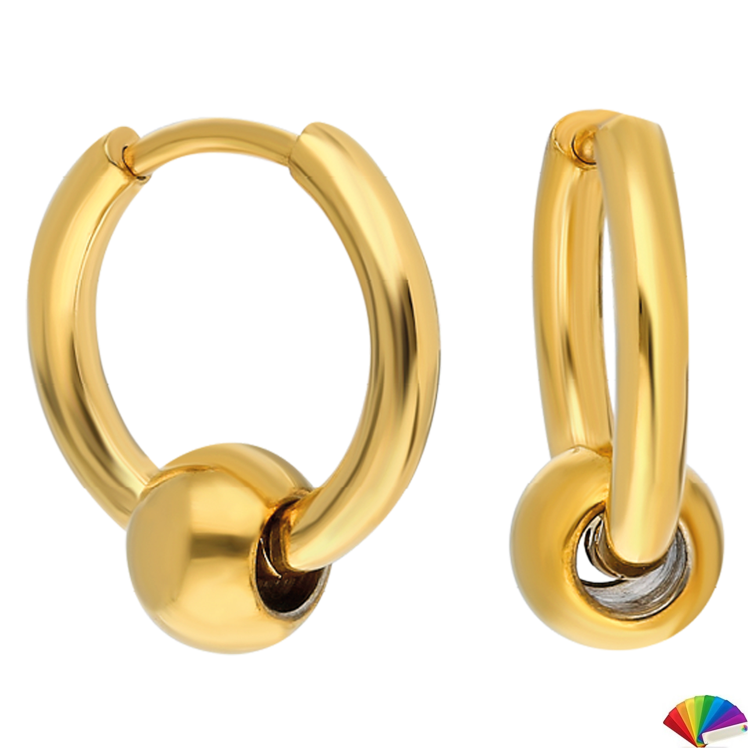 Earring:EH126-13 / Gold