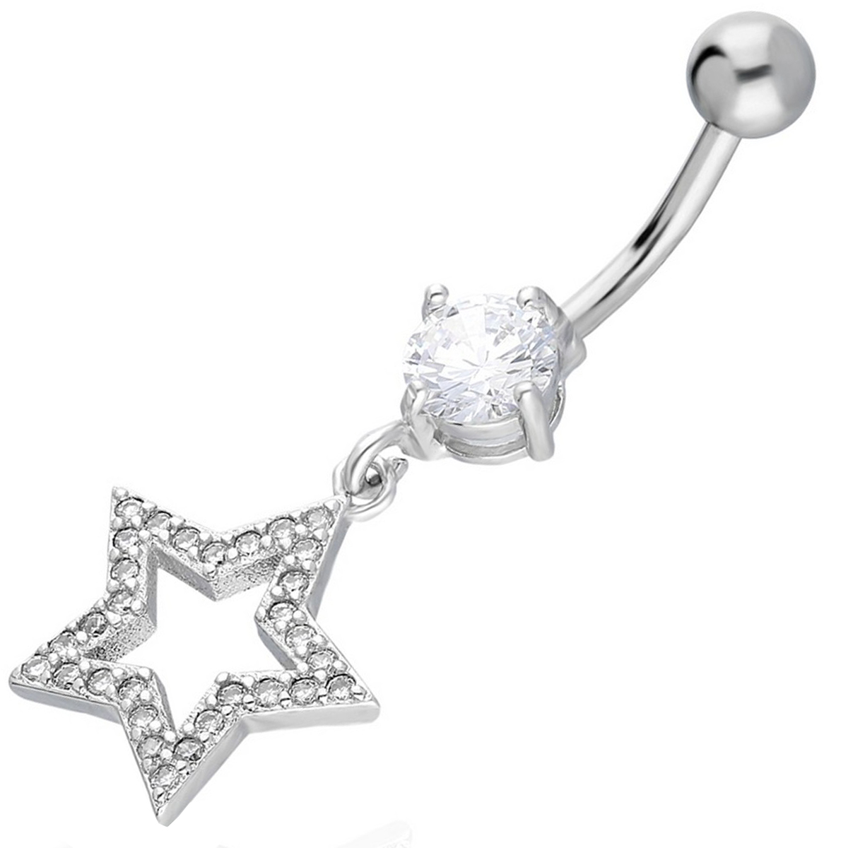 Belly Piercing:PRG094A