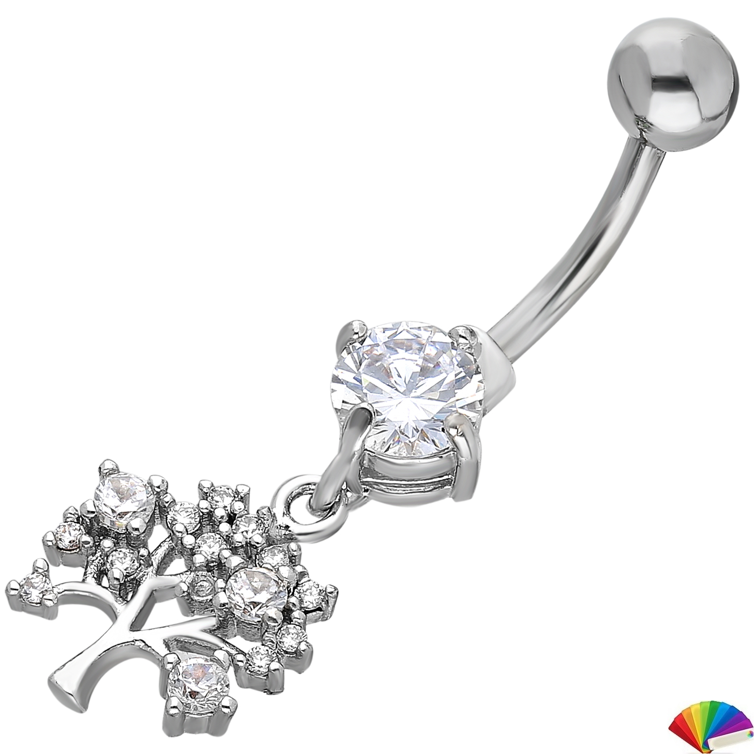 Belly Piercing:PRG205A