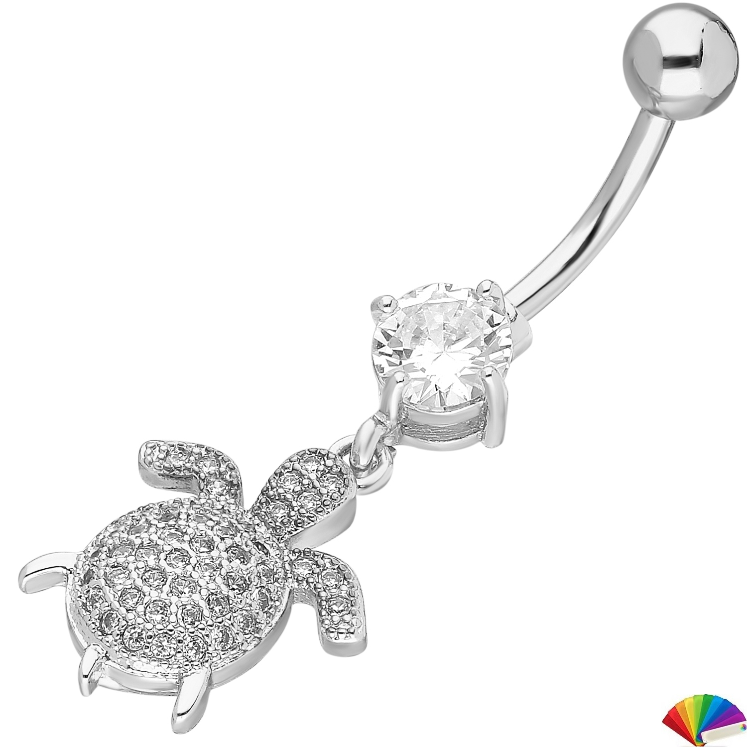 Belly Piercing:PRG235A